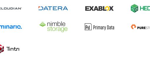 Storage Field Day 10 Companies