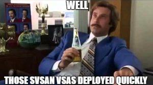 SvSAN PowerShell deployment