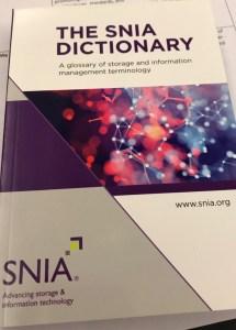 SNIA dictionary