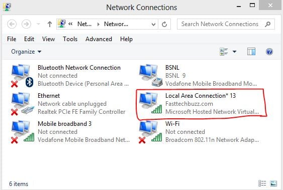 Remove WiFi Hotspot in WIndows 8