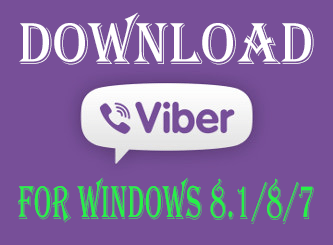 download viber windows 8.1/8/7