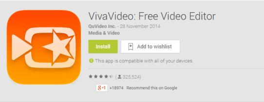 Viva Video Edit App