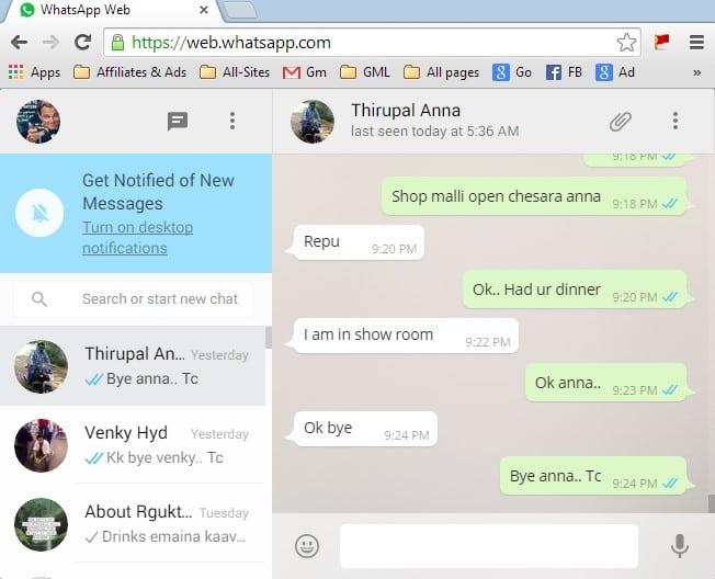 WhatsApp Web Version on PC Using Web.Whatsapp.com | Fast ...