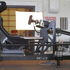 Hydraulic Racing Simulator Chair Eames Used Fasttracksims Pro Sim Products