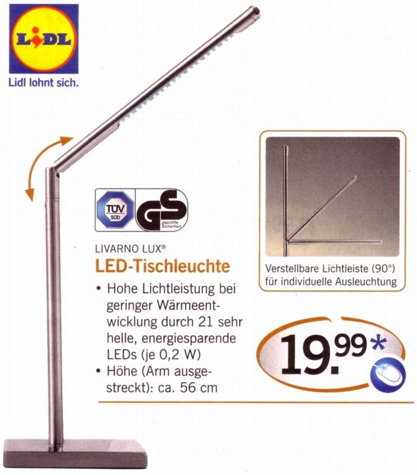 LED Lampe Jonas  Typ Tischleuchte  Tischlampe modernes Design  warmes Licht Warmwei
