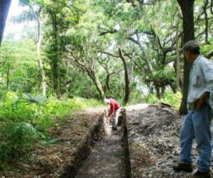 DrKeithAshley-excavating at Big Talbot