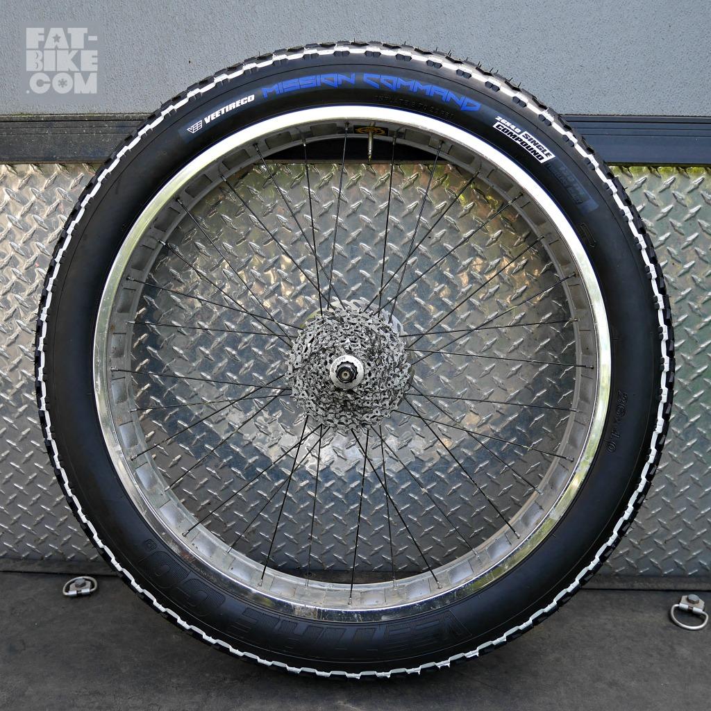 NEW Vee Tire Mission Command 26 x 40  FATBIKECOM