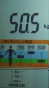 1003体重