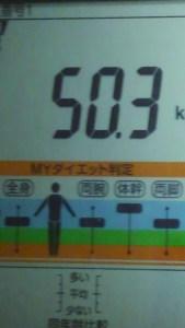 1005体重