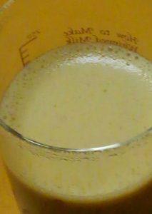 メリタのラテカップで攪拌したバターコーヒー