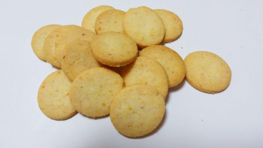 SUNAO_ビスケット発酵バター1袋の量
