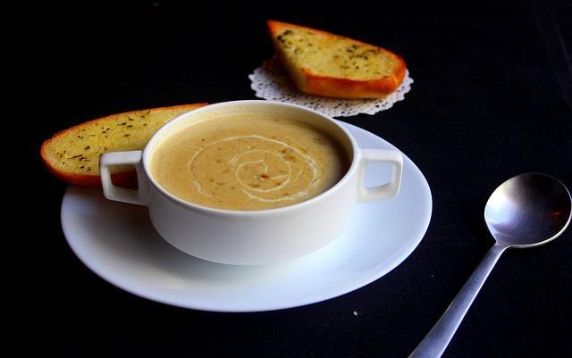 soup-難消化性デキストリンを溶かす