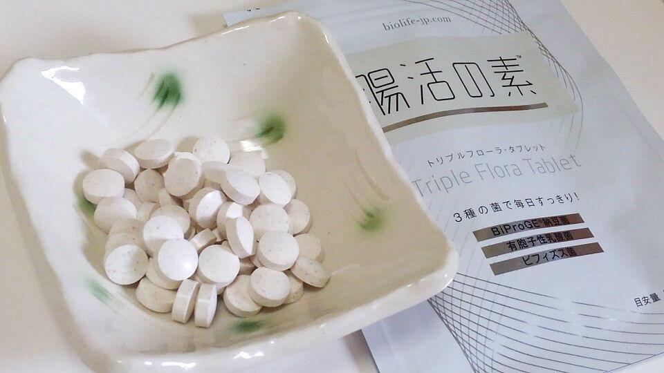 腸活の素-錠剤