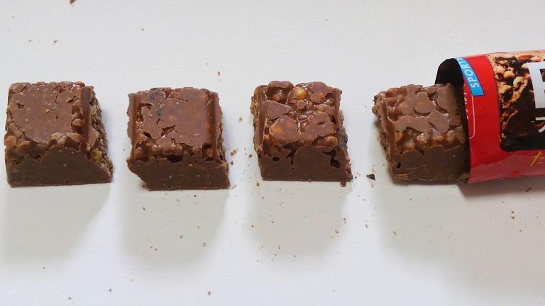 1本満足プロテイン15gバー-チョコ味