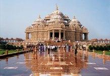 Akshardham Temple in Gujarat