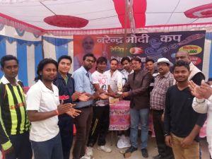 नरेन्द्र मोदी क्रिकेट प्रतियोगिता मे सातवे दिन हुए सात मैच , NARENDRA MODI CUP