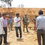 Surajpur collector visits IN ODGI 2