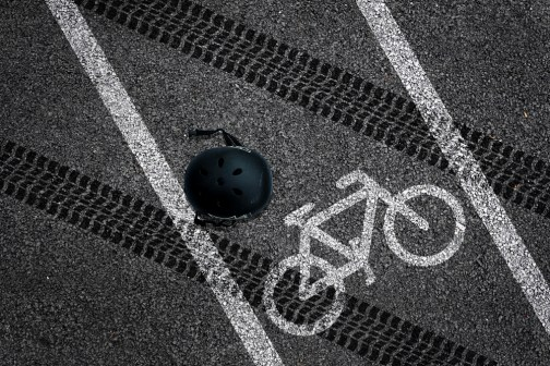 Fatal cycle accident
