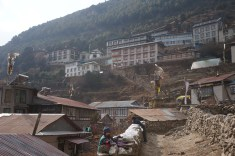 View of Namche