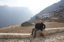 The view from Namche