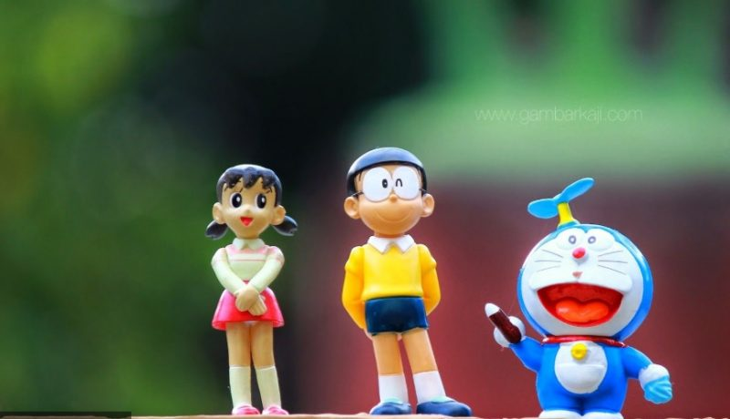 doraemon action figure