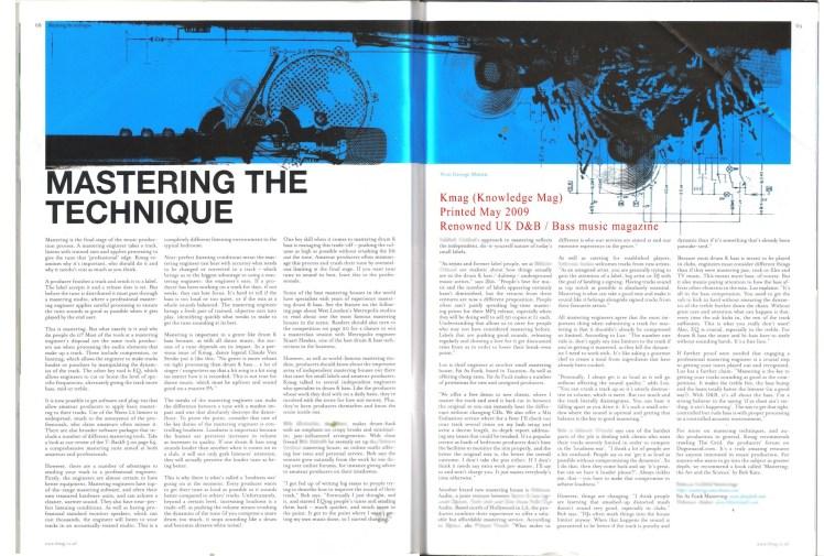 K Mag_FAF Interview_05_2009