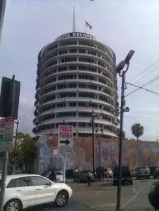 Capitol Records studio building Los Angeles