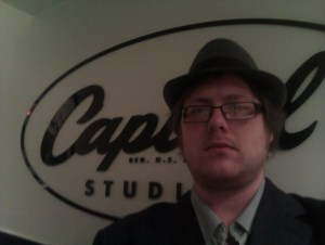 Loz Gill from Fat Asn Funk Mastering and Rinse The Syncat Capitol Studios