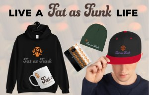 fat as funk mastering mixing streetwear hoodie t shirt beanie merchandise