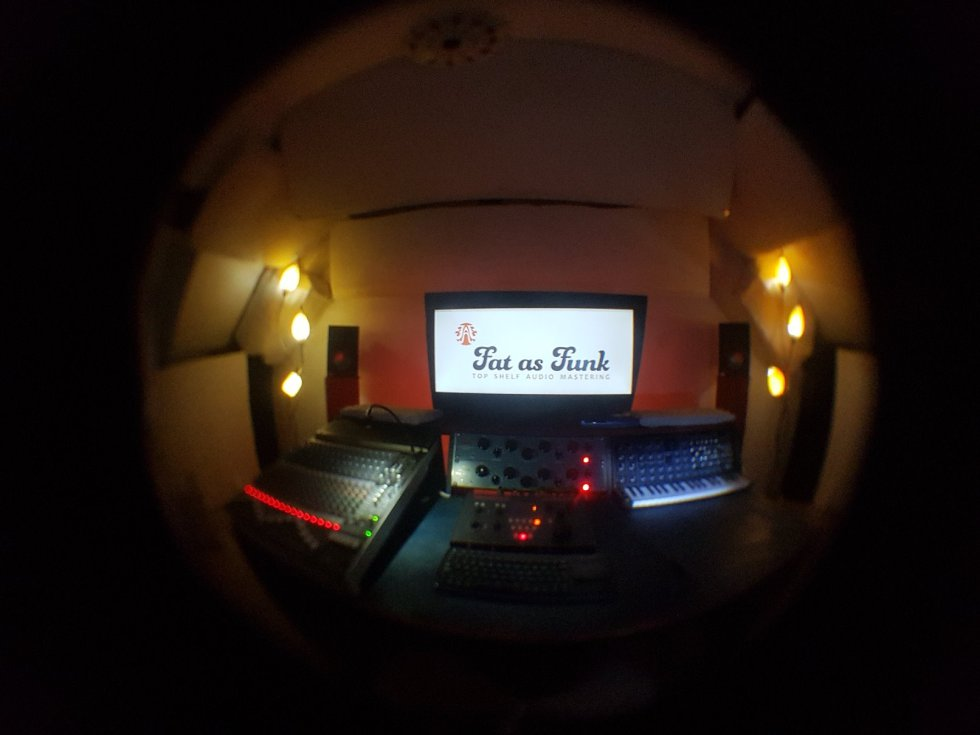 acoustic treatment mastering control room fat as funk
