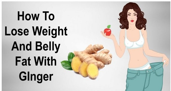 Ginger To Lose Weight and Belly Fat