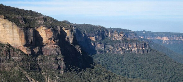 Katoomba clifflines (photo Albert Chetcuti)