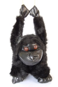 For a good nights sleep hang this plush toy above your child's bed.  They won't move all night!