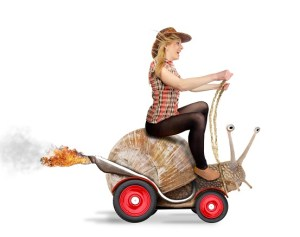 Yeah I'll ride the flaming motor-snail any time I want!