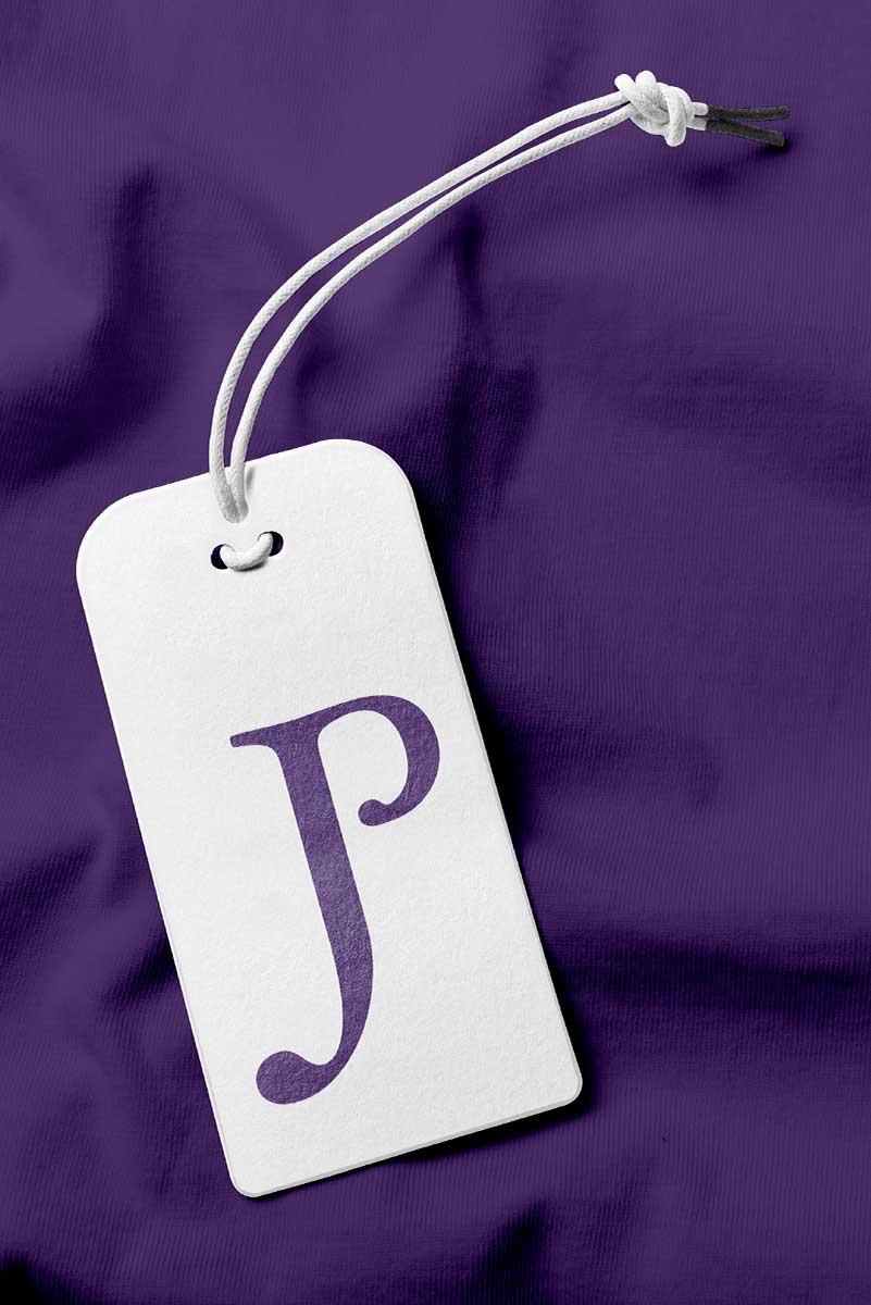 Judith Poe Jewelry tag