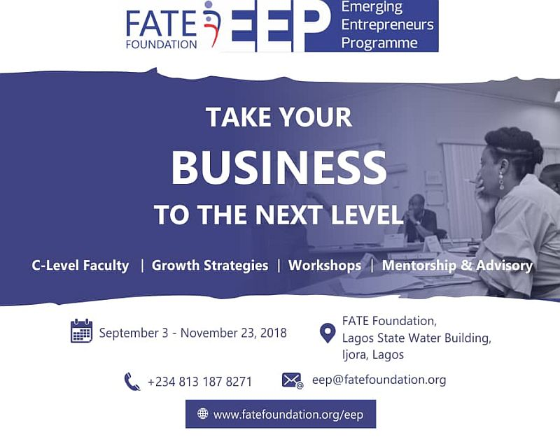 Apply for the Emerging Entrepreneurs Programme (EEP) Today
