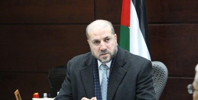 الهباش: اجراءات حماس في غزة باطلة ولا تستند الى اية اسس قانونية