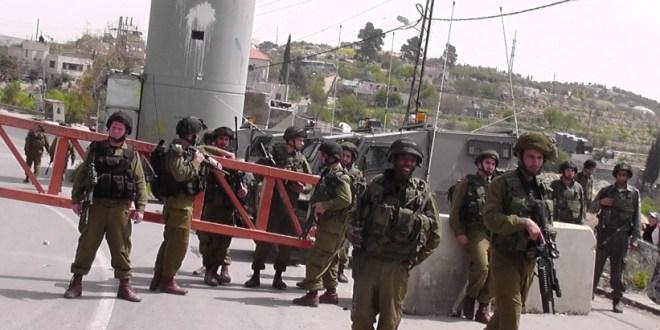الاحتلال يحكم إغلاقه على قرى الريف الغربي في بيت لحم