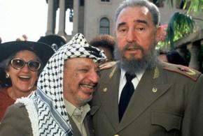 بيت عزاء للزعيم الأممي الراحل فيديل كاسترو في رام الله