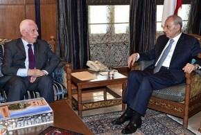الأحمد يبحث مع مسؤولين لبنانيين آخر المستجدات وأوضاع المخيمات