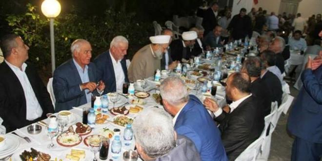 """حركة """"فتح"""" تشارك في إفطار آل خليفة على شرف العميد فوزي حمادة في صيدا"""
