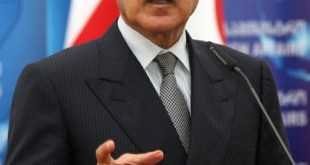 Egyptian Foreign Minister Ahmed Abul Ghe