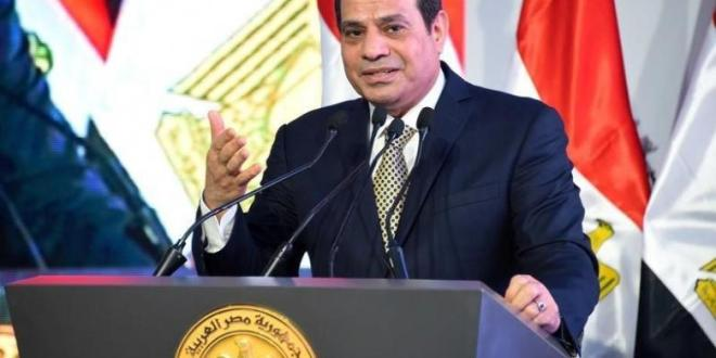 Sisi speaks at Al-Asmarat district in Al Mokattam area