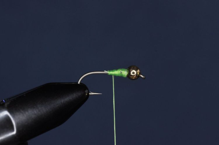 Green Weenie Fly Step-by-Step
