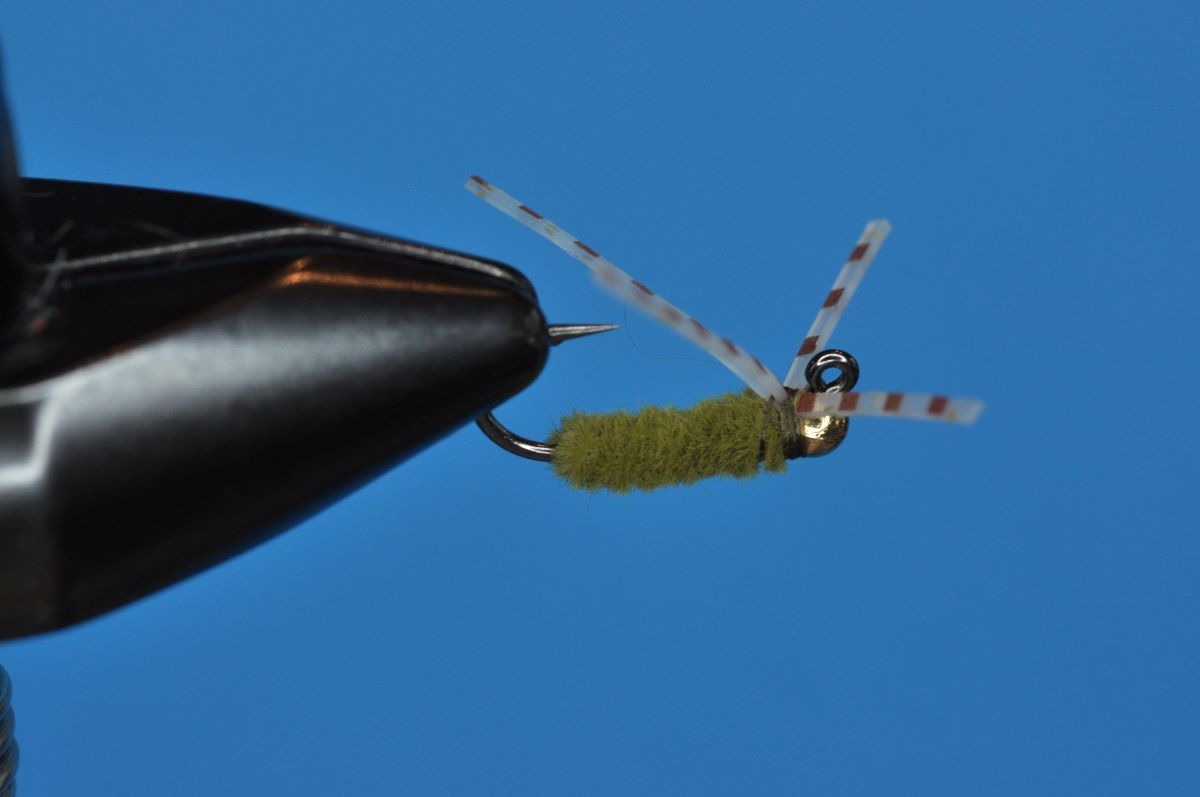 Cap Spider Fly Step-by-Step