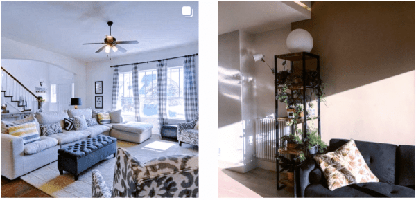 Perfect lighting and immaculate rooms are staged, not the norm