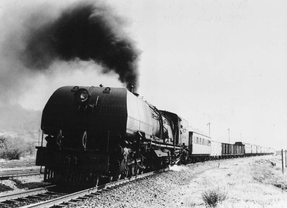 Rhodesia Railways 20th Class Garret: One Mean Mother Locomotive