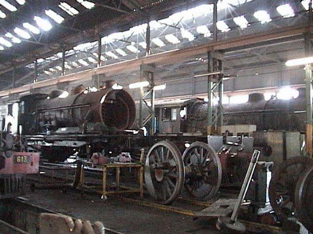 Rhodesia Railways Erecting Shop