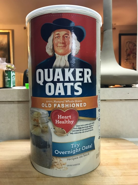 OLD FASHIONED OATS