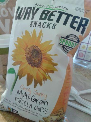 Multi-grain tortilla chips by Way Better